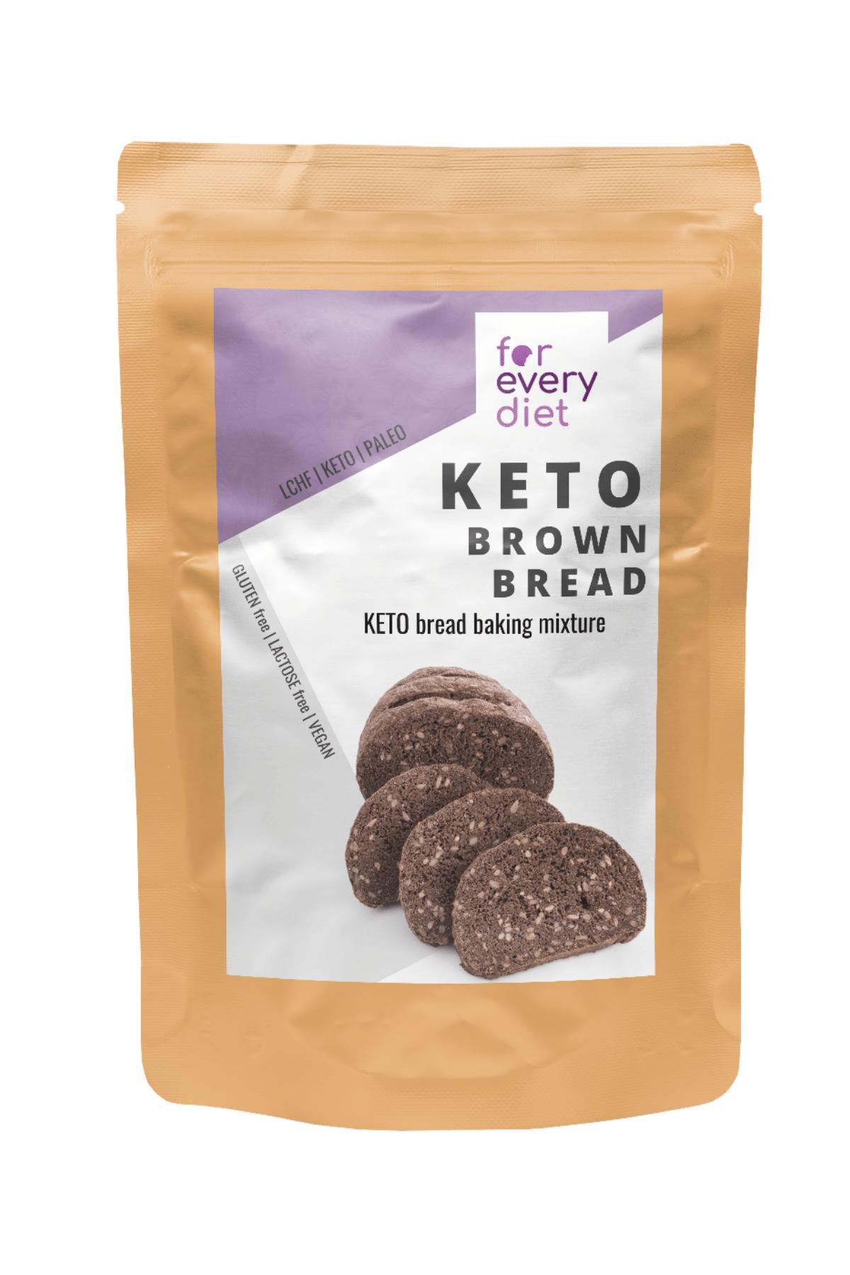 KETO brown bread baking mix