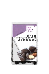 KETO chocolate coated almonds