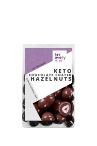 KETO chocolate coated hazelnuts