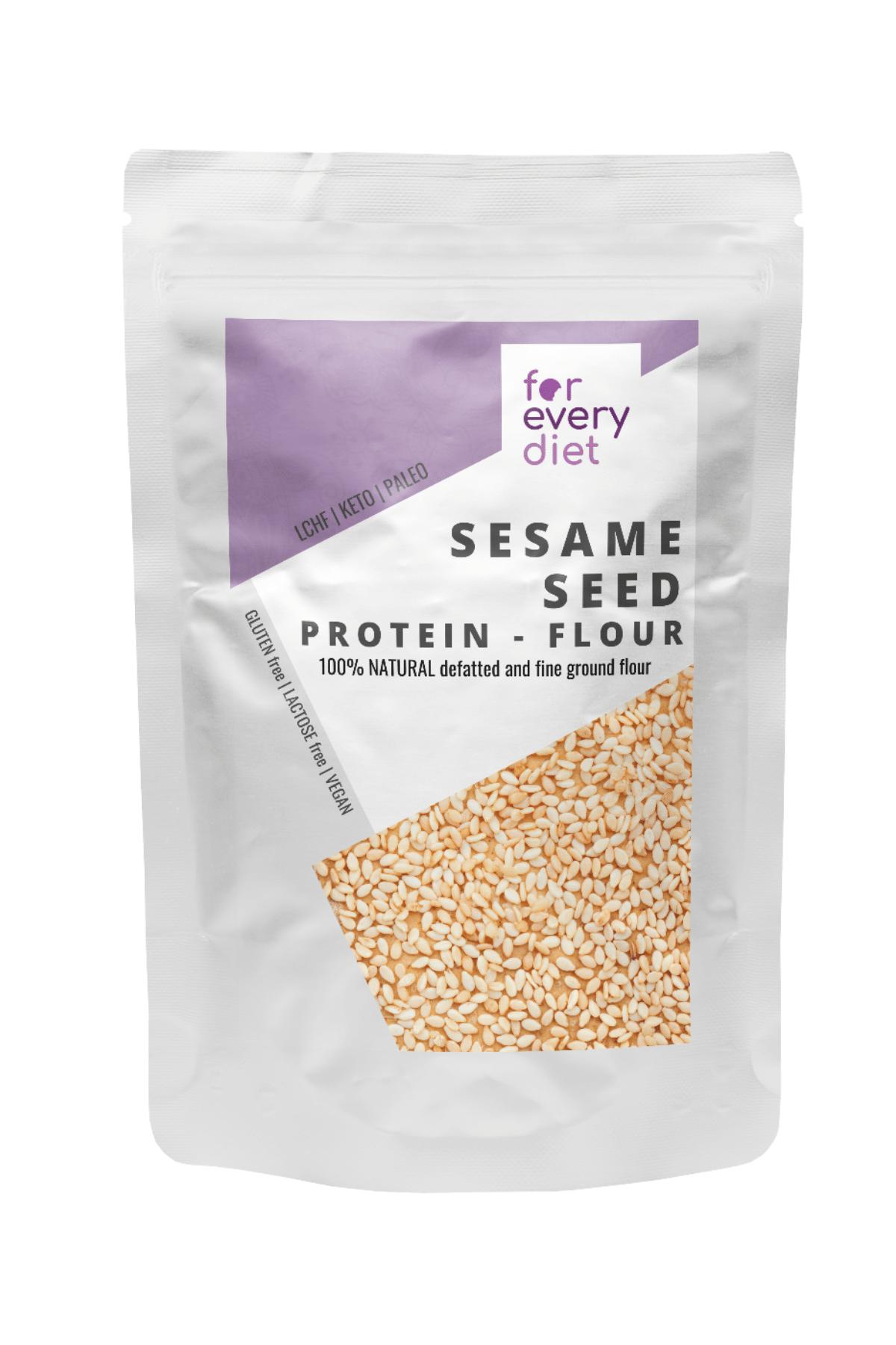 sesame seed protein flour